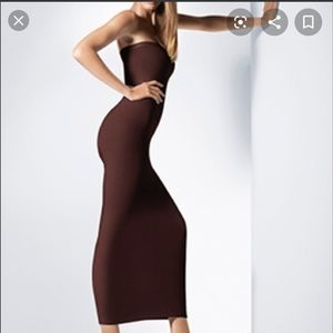 Wolford Fatal Dress Mocca